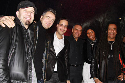 Eduardo Montefusco with Skunk Anansie