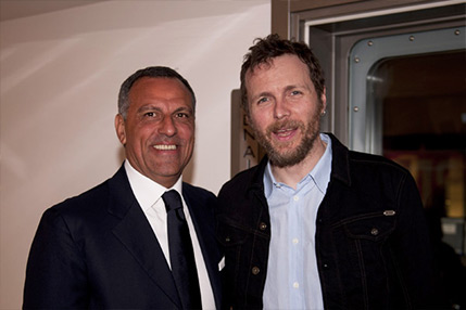 Eduardo Montefusco with Jovanotti