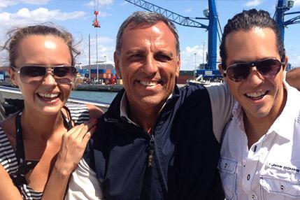 Eduardo Montefusco, Shaila Durcal & Dorio Ferreira