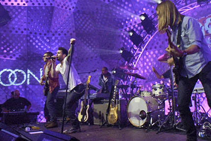 Maroon 5 live at RDS Auditorium