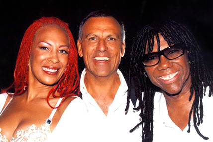 Eduardo Montefusco, Norma Jean Wright e Nile Rodgers
