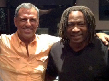 Eduardo Montefusco with Jimmy Douglass