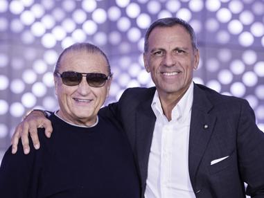 Eduardo Montefusco with Tony Renis