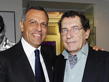 Eduardo Montefusco con Jocelyin